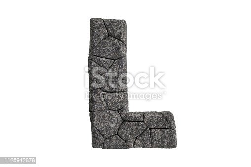 istock Hi Resolution A-Z Stone Texture Text Series For Sort By Up to you 1125942676