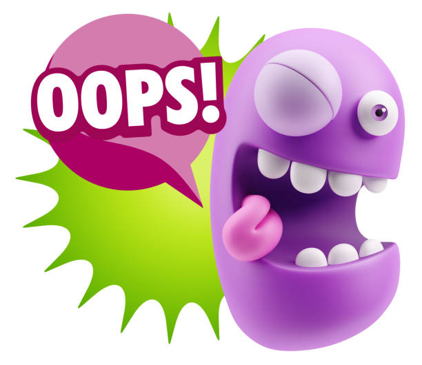 Oops Animated Clipart Hi