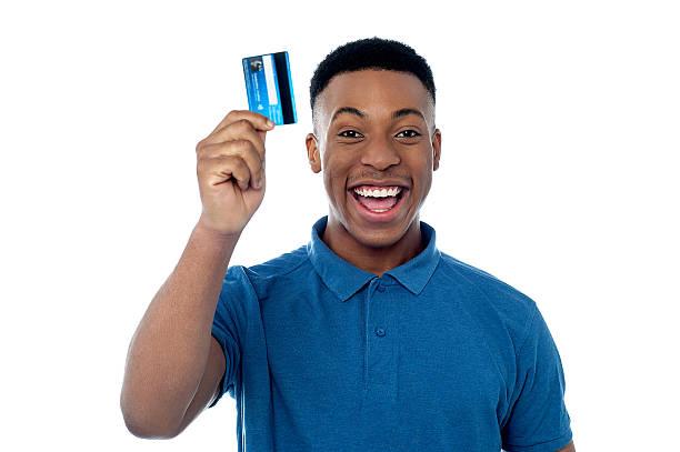Hi! Das ist meine neue Kreditkarte! – Foto