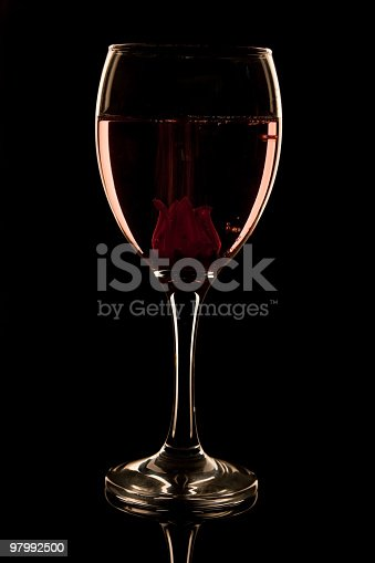 Hibiscus Flower Fizz Stock Photo & More Pictures of Alcohol