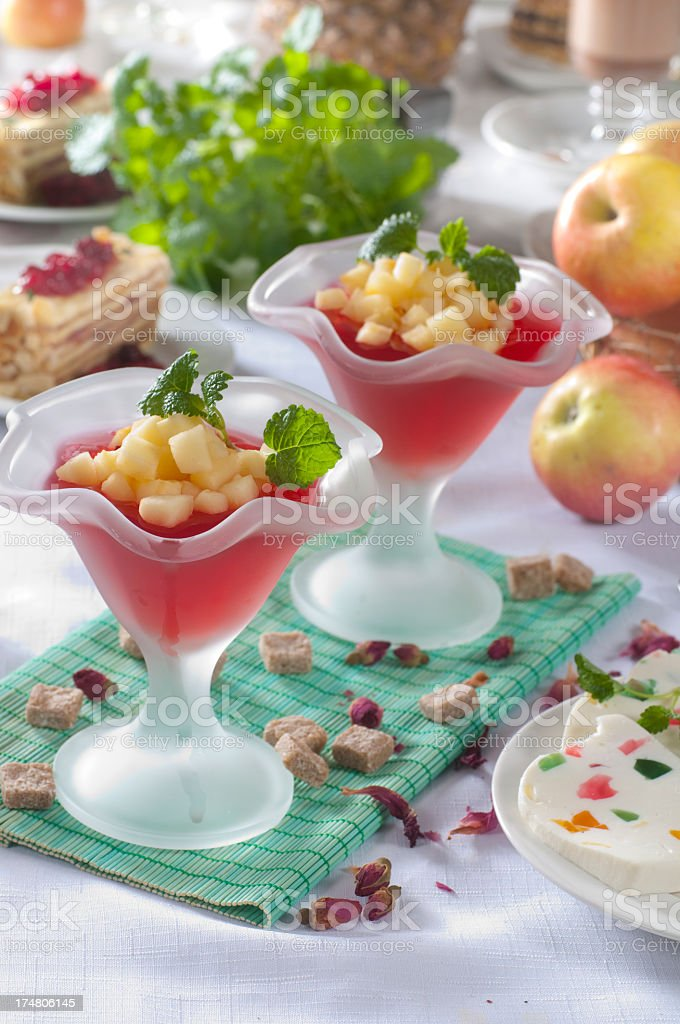 Hibiscus tea royalty-free stock photo