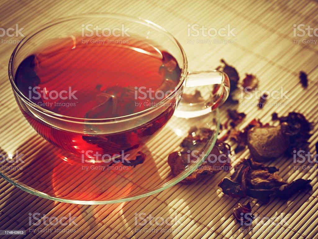 Hibiscus Tea royalty-free stock photo
