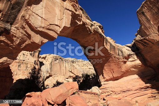 Hickman Bridge in Capitol Reef National Park Utah