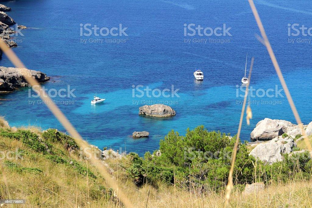 hidden bay stock photo