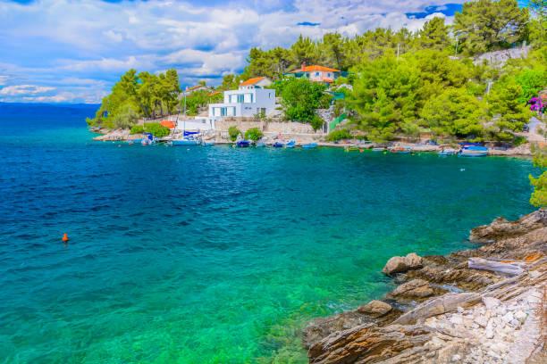 Versteckte Bucht Insel Solta. – Foto