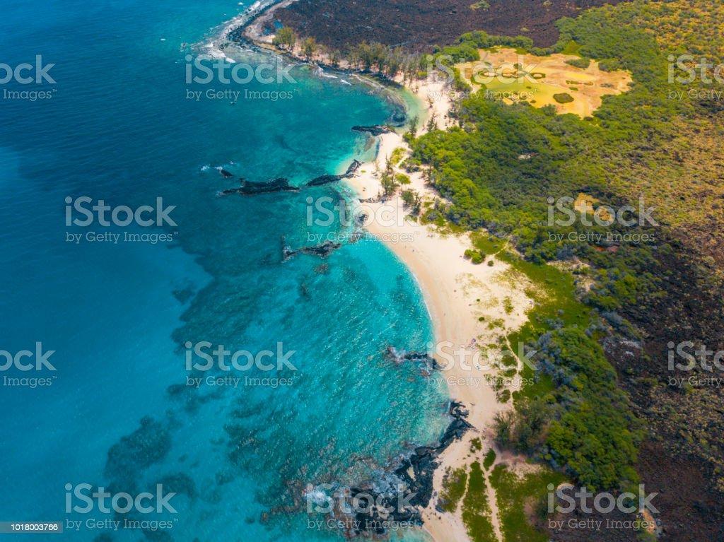 Hidden Beaches stock photo