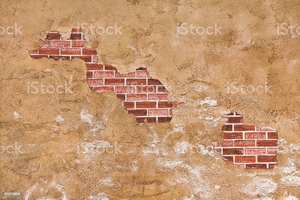 Hidden Brick Wall royalty-free stock photo