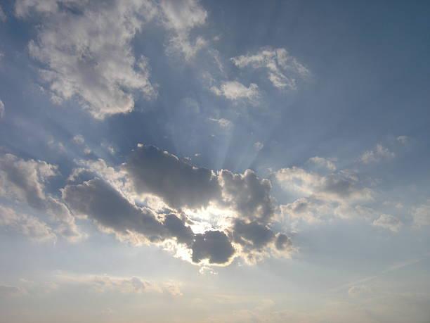 hidden by clouds