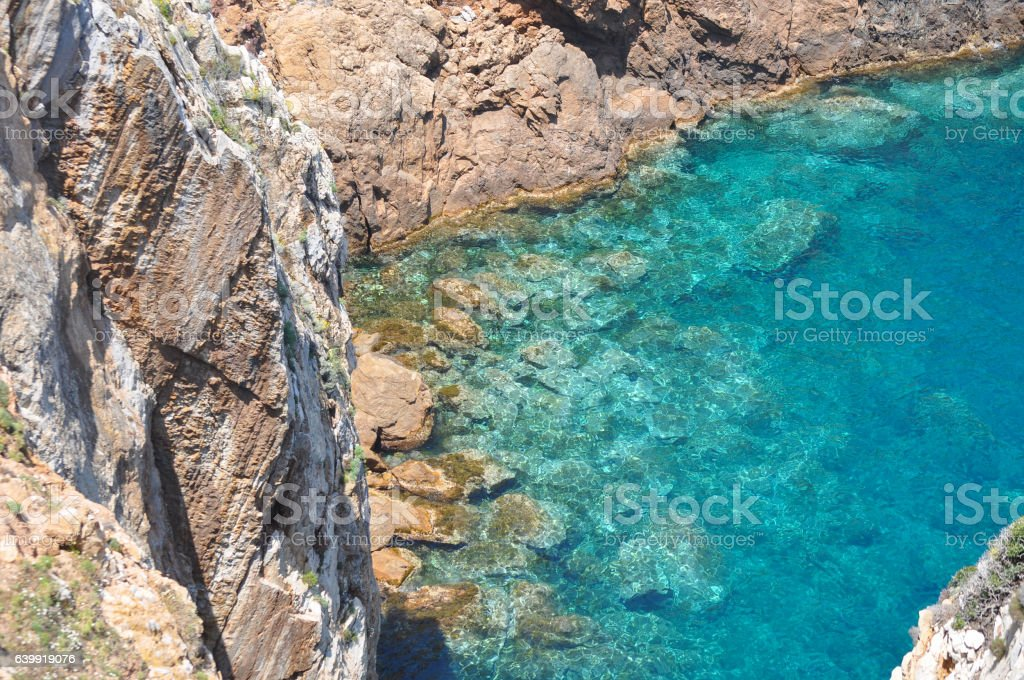 hidden cove stock photo