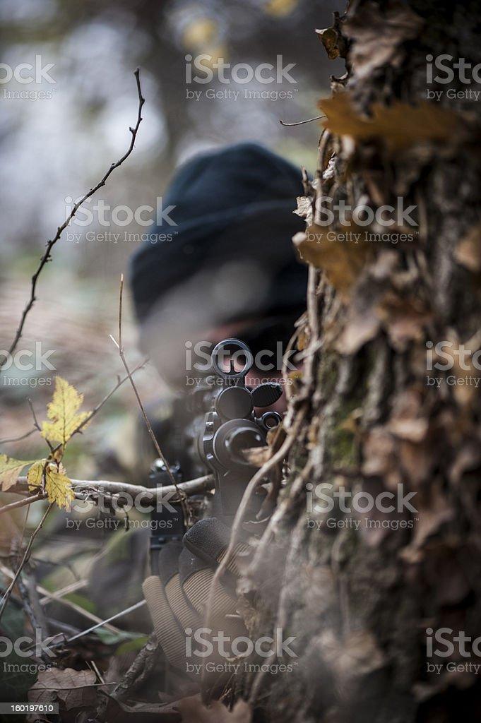 Hidden danger stock photo