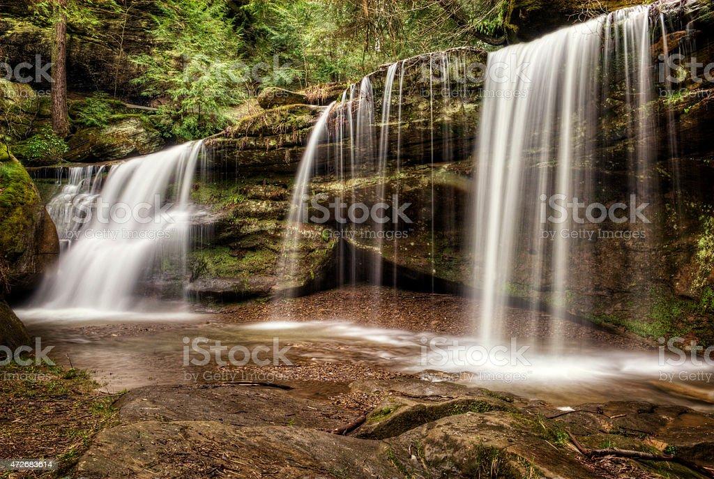 Hidden Falls stock photo
