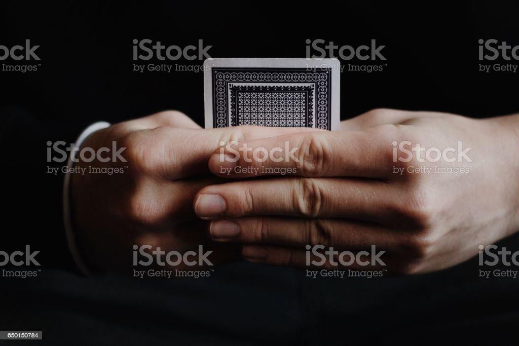 Hidden Hand stock photo
