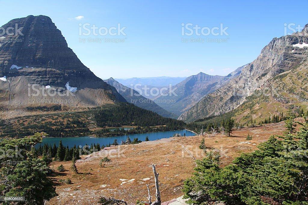 Hidden Lake - Montana stock photo