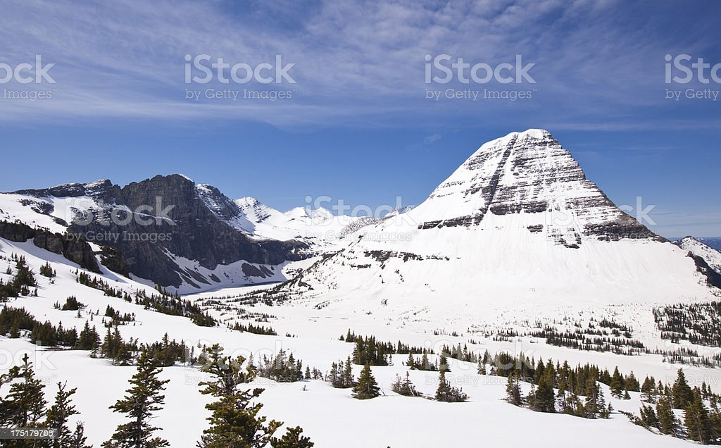 Hidden Lake royalty-free stock photo