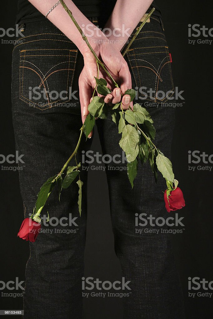 Hidden love royalty-free stock photo