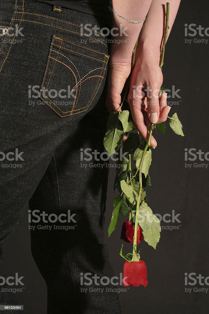 Hidden love royalty-free stock photo