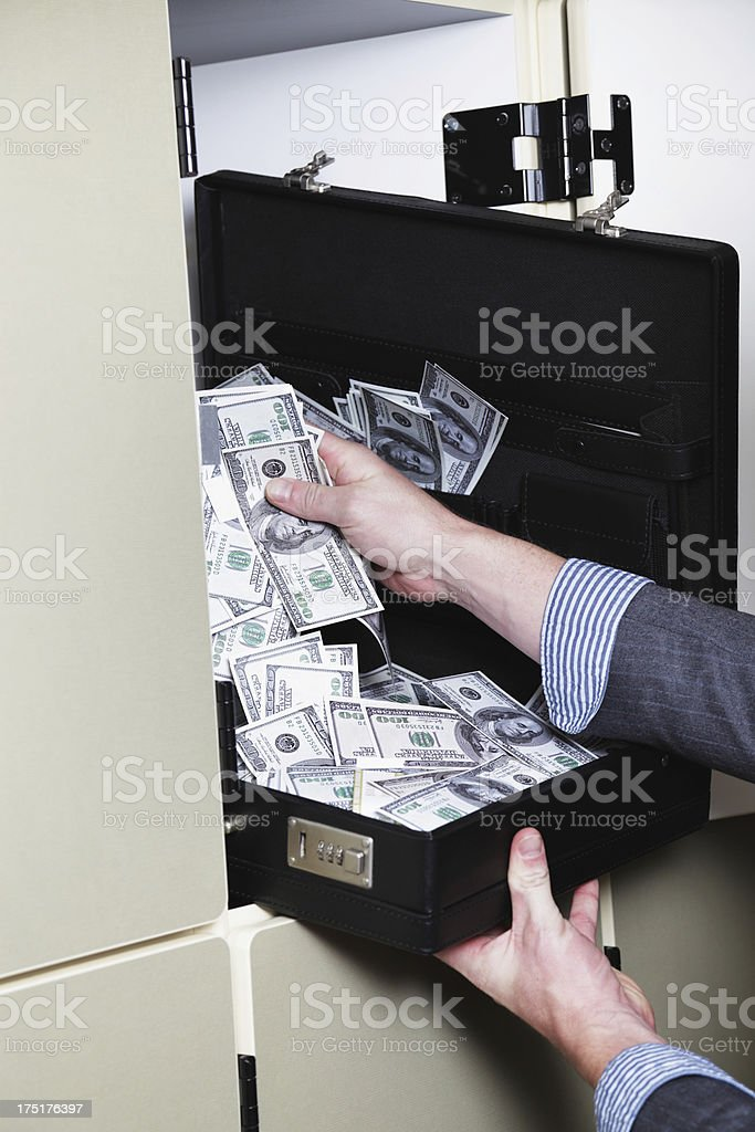 Hidden Money royalty-free stock photo