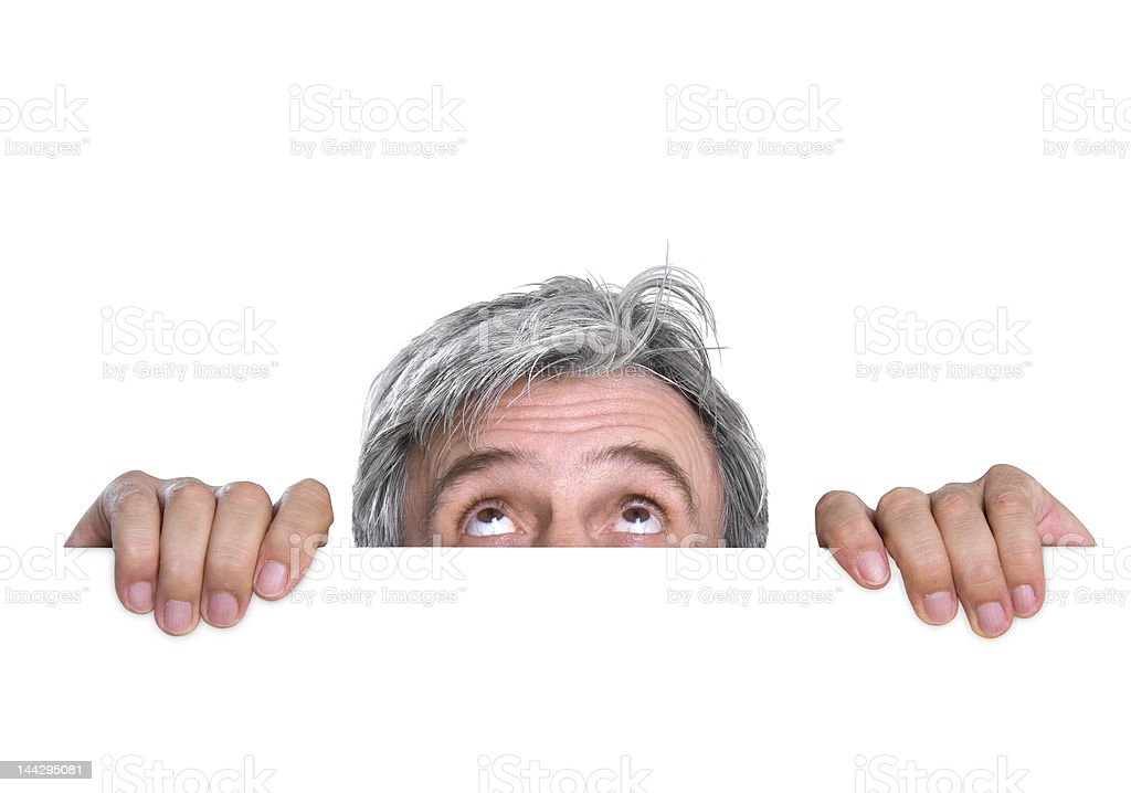 Hidden royalty-free stock photo