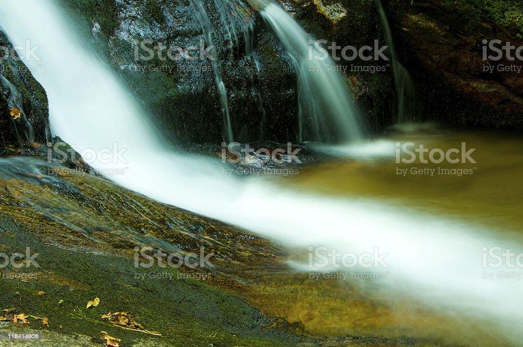Hidden Rainforest Waterfall stock photo