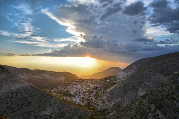 Hidden town Hidden town real de catorce stock pictures, royalty-free photos & images