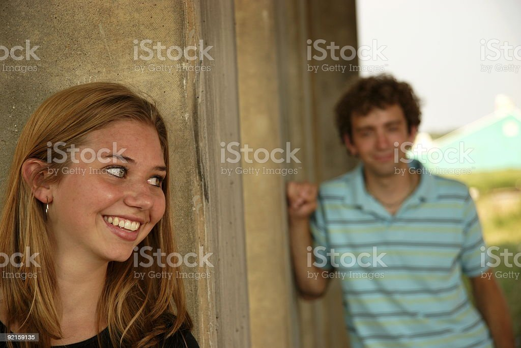 hide royalty-free stock photo