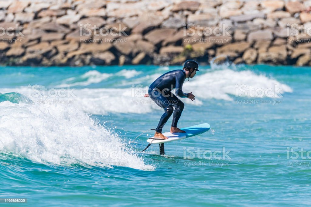 Hidrofoil Surfer Stock Photo Download Image Now Istock