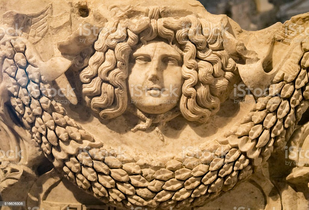 Hierapolis ancient site, Turkey stock photo