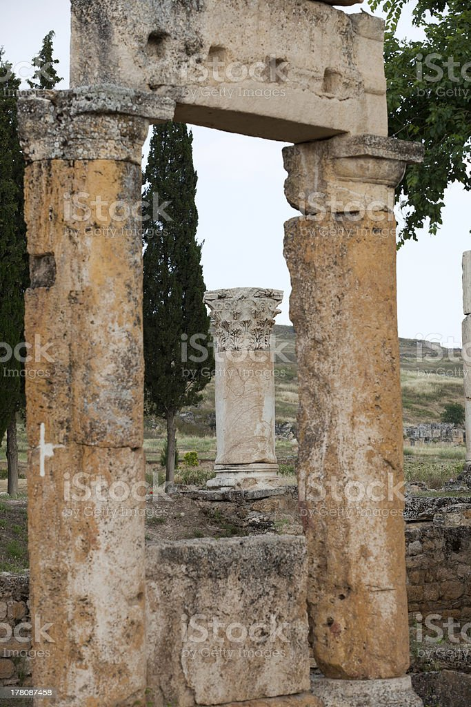 Hierapolis royalty-free stock photo