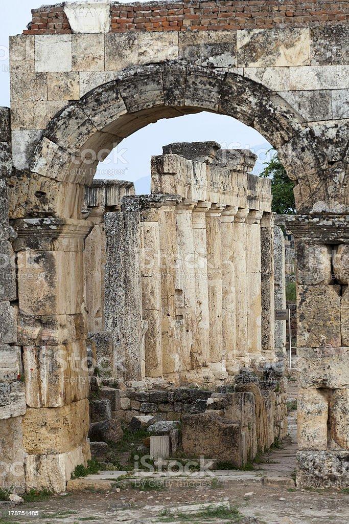 Hierapolis royalty-free stock photo
