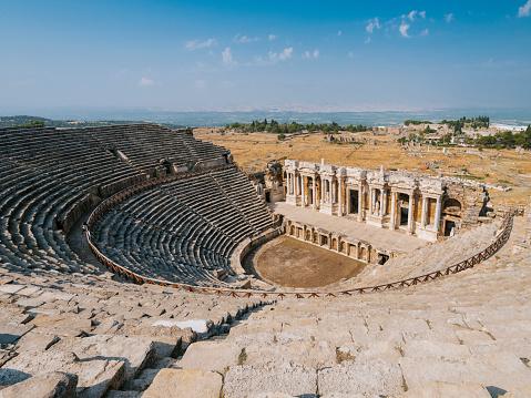 Capital Cities, Famous Place, Stone Material, Pamukkale, Hierapolis