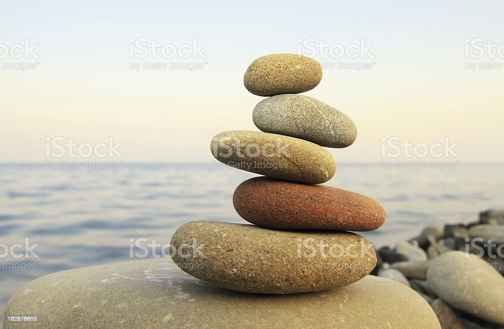 Hierarchy and Balance stock photo