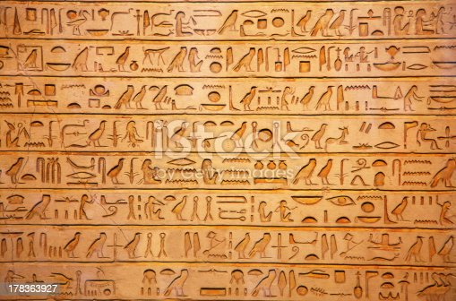 178769498 istock photo Hieroglyphs on the wall 178363927