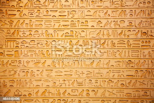 178769498 istock photo Hieroglyphs on the wall 464446496