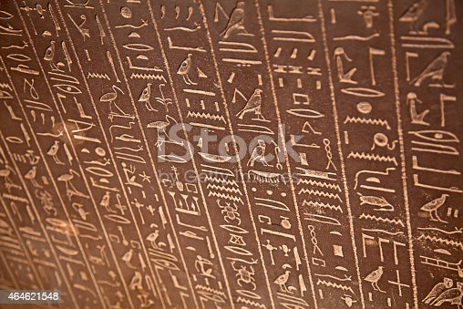 178769498 istock photo Hieroglyphs on the wall 464621548