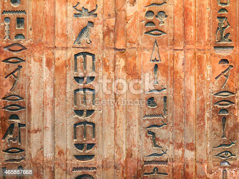 178769498 istock photo Hieroglyphs on the wall 465887668
