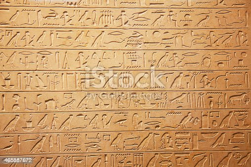 178769498 istock photo Hieroglyphs on the wall 465887672