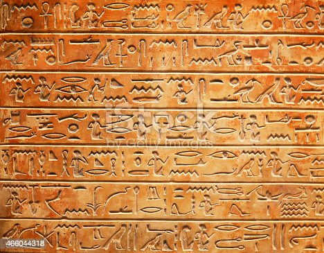 178769498 istock photo Hieroglyphs on the wall 466044318