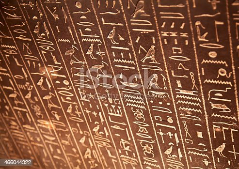 178769498 istock photo Hieroglyphs on the wall 466044322
