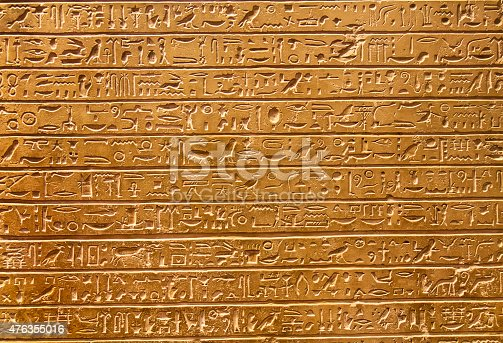 178769498 istock photo Hieroglyphs on the wall 476355016