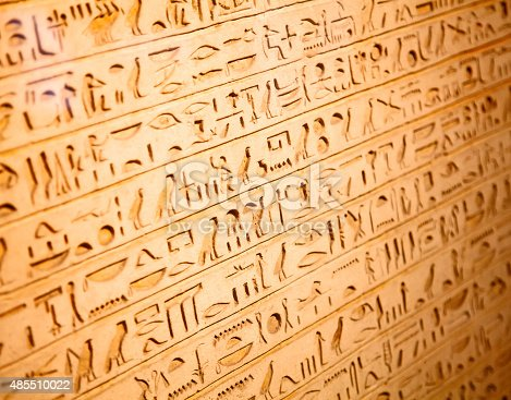 178769498 istock photo Hieroglyphs on the wall 485510022