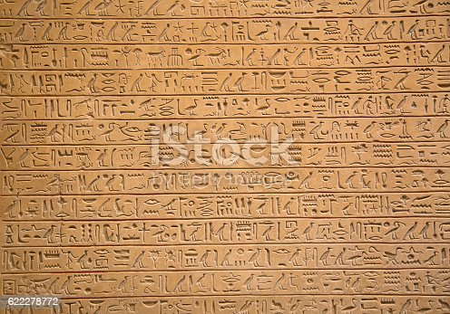 178769498 istock photo Hieroglyphs on the wall 622278772