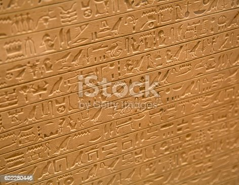 178769498 istock photo Hieroglyphs on the wall 622280446