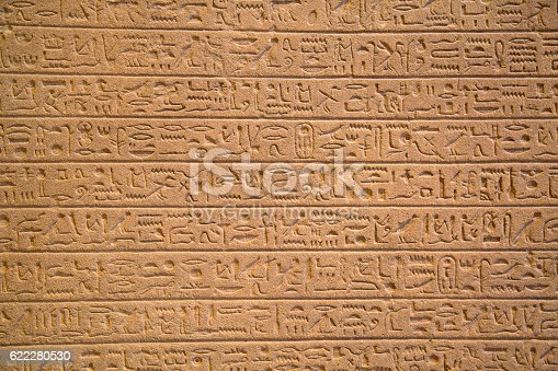 178769498 istock photo Hieroglyphs on the wall 622280530