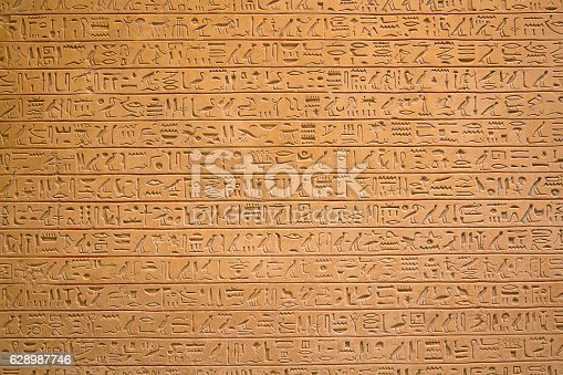 178769498 istock photo Hieroglyphs on the wall 628987746