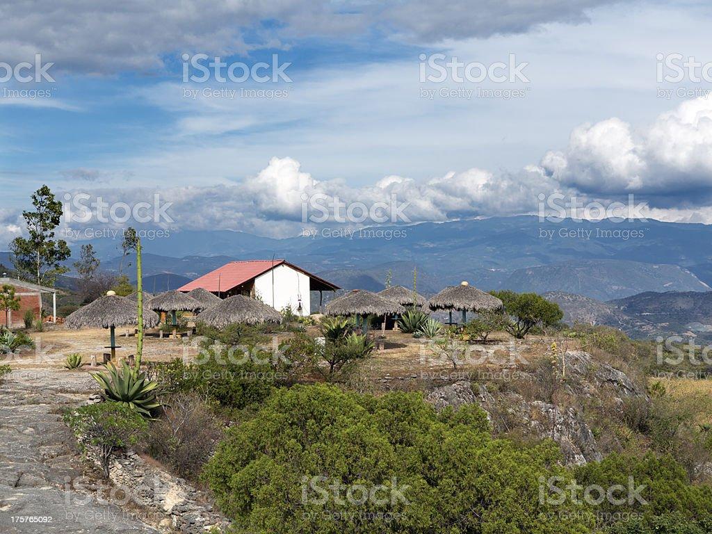 Hierve el Agua, Mexico royalty-free stock photo