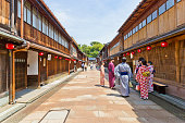 金沢の歴史的街、東茶屋地区