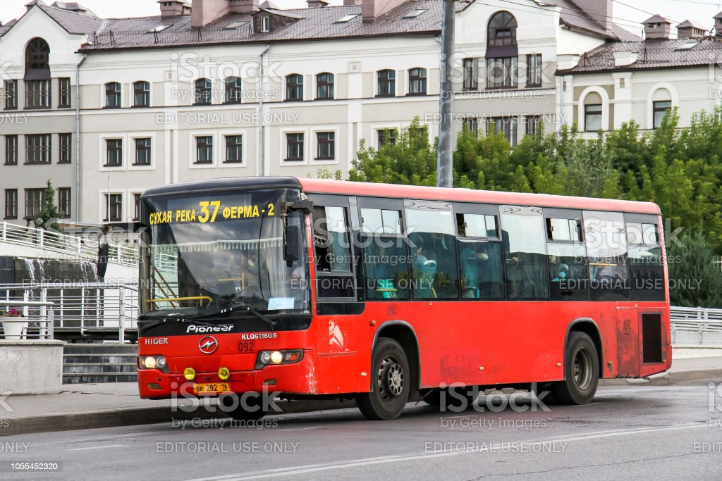 Higer KLQ6118GS stock photo