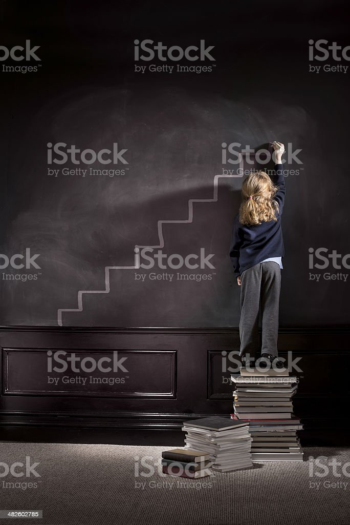 high achiever stock photo