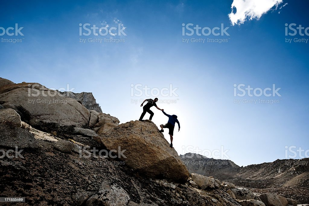 high adventure royalty-free stock photo