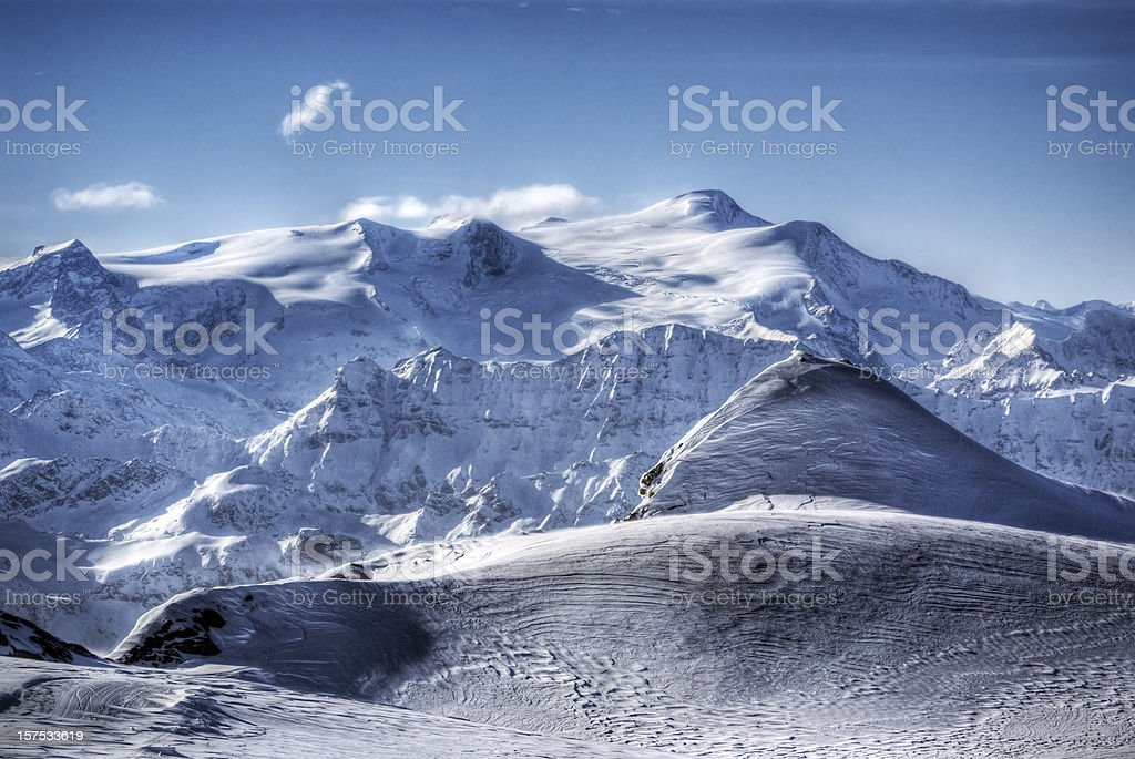 High Alpine Scenic royalty-free stock photo
